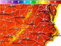 Record heat possible in Washington region Wednesday and Thursday