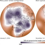Scientists say weak and wobbly polar vortex to blame for cold extremes