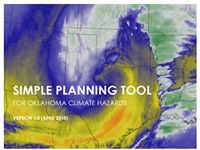 SCIPP-RISA Releases Simple Planning Tool for Oklahoma Climate Hazards