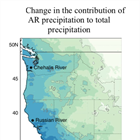 New study elucidates the role of atmospheric rivers in future precipitation regime change in the West