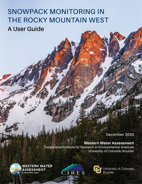 Western Water Assessment Releases New Snowpack Data User Guide for the Mountain West