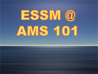 CPO's Earth System Science and Modeling Division Well-Represented at AMS 101st Annual Meeting