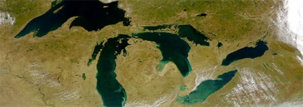 Analyzing Large Lakes in Climate Models