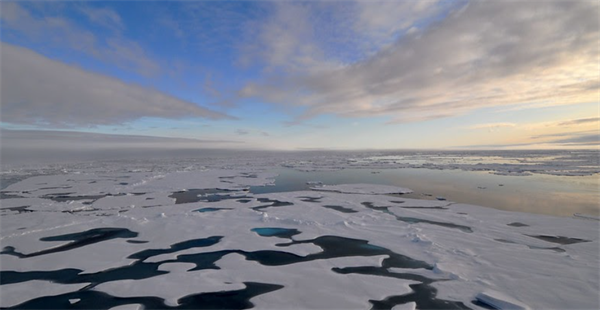 Increasing Summertime Cloudiness May Lead to More Sea Ice Melt in the Arctic