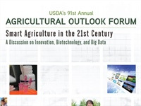 CPO's Pulwarty to speak at 2015 USDA Outlook Forum