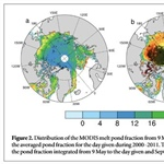 Could the melt pond fraction help predict seasonal Arctic sea ice minimums?
