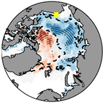 The role of springtime Arctic clouds in determining autumn sea ice extent