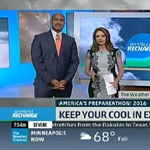 Michelle Hawkins of NOAA's National Weather Service shares tips for staying safe in extreme heat with The Weather Channel as the FEMA PrepareAthon's Extreme Heat Week begins