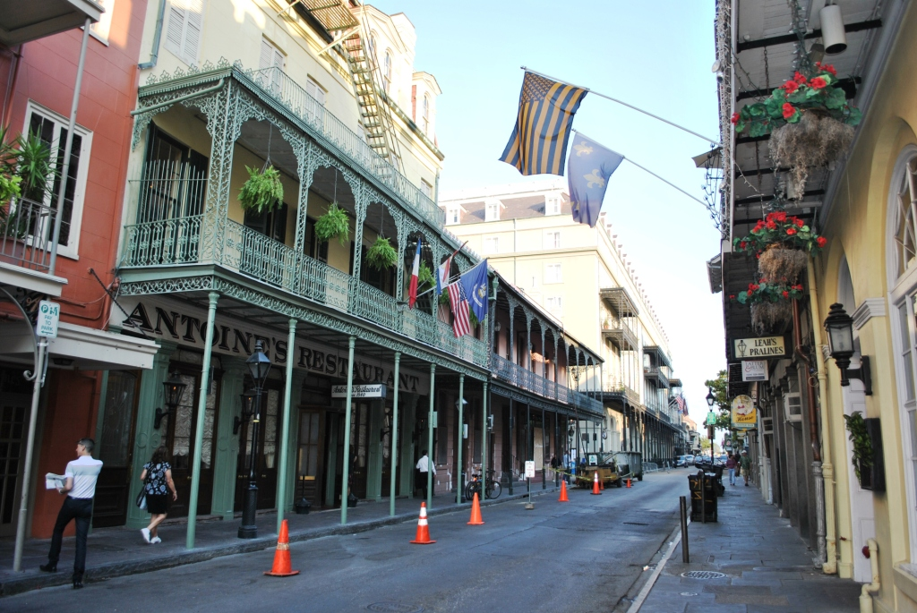 Vieux Carre Historic District of the New Orleans French Quarter. Credit: Wikimedia Commons