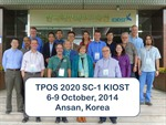 CPO staff attend 1st Meeting of the Tropical Pacific Observing System (TPOS 2020) Steering Committee
