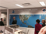 President Obama Mentions U.S. Climate Resilience Toolkit While Touring National Hurricane Center