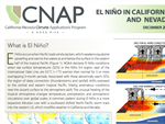What does El Niño mean for California and Nevada?