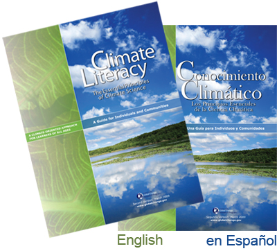 A Current Climate Literacy brochure